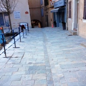 One of our projects in a city of France
