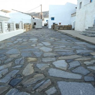 Paving on Kassos island
