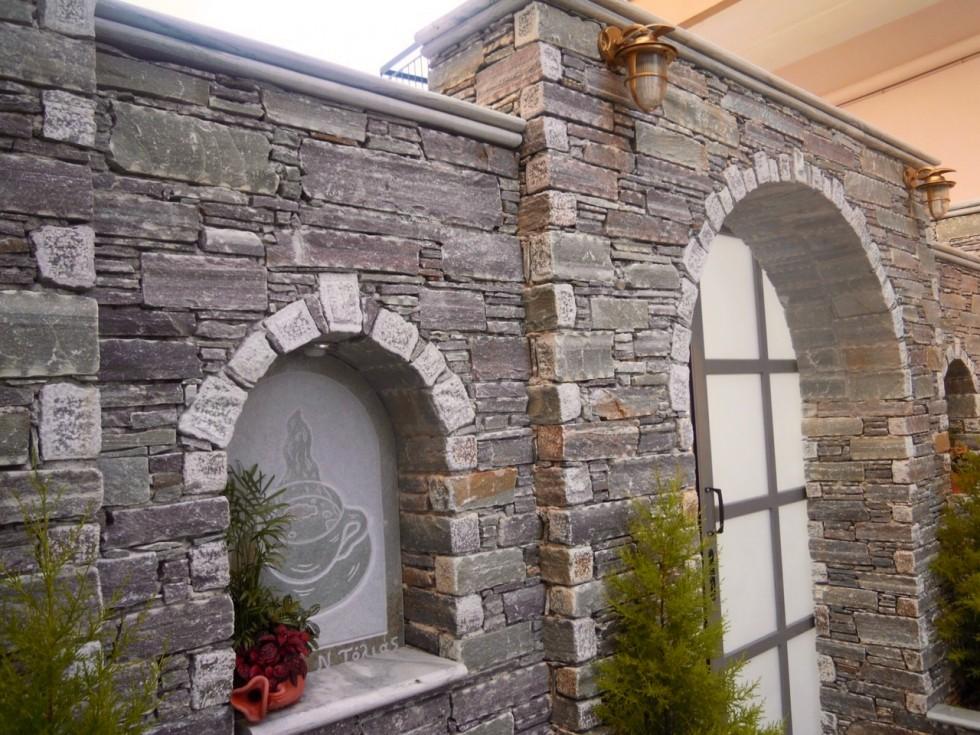 Karystos quoins split cut grey for Decorative quoins